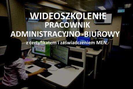 szkolenie online pracownik biurowy