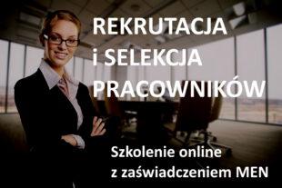 szkolenie online specjalista do spraw rekrutacji
